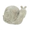 "Polystone Snail 18""W, 11""H, Gray"