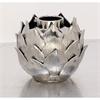 Amazing Ceramic Silver Vase, Silver