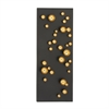Engaging Metal Wall Decor, Black & Golden