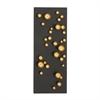 Engaging Metal Wall Decor, Black & Golden