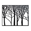 "Metal Wall Decor 38""W, 29""H, Black"