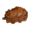 "Teak Bowl 22""W, 7""H, Brown"
