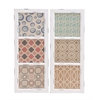 Benzara Customary Styled Fancy Wood Wall Panel 2 Assorted