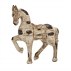 Benzara Antique And Regal Polystone Horse