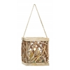 Benzara High Quality Wooden Lantern For Indoor And Outdoor Use