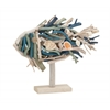 Benzara Artistically Designed Driftwood Fish