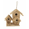 Benzara Striking And Stylish Driftwood Birdhouse