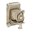 Antique Themed Silver Camera Décor