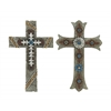 Benzara Delightful 2 Assorted Cross