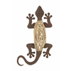 Benzara Exclusive Metal Wood Wall Lizard