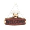 Benzara Striking Chef Welcome Sign