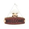 Benzara Striking Chef Welcome Sign