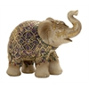 Artistically Designed Elephant Figurine