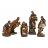 Spectacular Set Of 5 Nativity