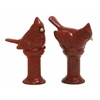 Benzara Lovely Ceramic Cardinal 2 Assorted