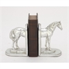 Robust Ps Silver Horse Bookend Pair, Silver