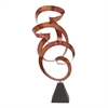 Attractive Metal Red Sculptures, Black & Red