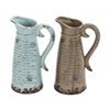 Easy To Use And Lightweight Ceramic Pitcher With Antique Design