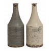Benzara Set Of 2 Unique And Vintage Themed Classy Ceramic Vases