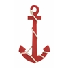 Benzara Attractive Styled Wood Rope Wall Anchor