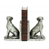 Benzara Hoary Shiny Dog Bookend