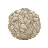 Benzara Fascinatingly Crafted Shell Ball Décor