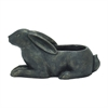 "Benzara Cute Polyresin Rabbit Flower Pot 17""W, 9""H"
