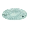 "Ceramic Tutrle Plate 12""W, 1""H, White, Gray"