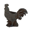 "Polystone Brown Rooster Planter 19""W, 19""H, Brown"