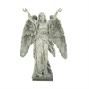 "Polystone Angel 23""W, 35""H, Gray"