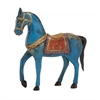 Benzara Exclusive Unique Styled Wood Painted Horse