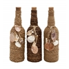Fascinating Glass Stopper Bottle 3 Assorted
