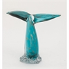 Smart Glass Whale Tail, Turquoise & Gold
