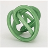 Attractive Glass Green Knot, Green