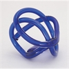 Modish Glass Blue Knot, Green