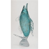Alluring Glass Jumping Fish, Turquoise & Gold