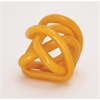 Unique Glass Knot Orange, Orange
