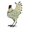 "Metal Rooster 11""W, 17""H, Red"