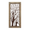 Enchanting Wall Plaque With Garden Trees