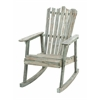 Benzara Old Look Old Fashioned Rocking Chair