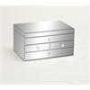 Benzara Prestigious Styled Wood Mirror Jewelry Box