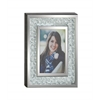 "Bubble Design Wood Mirror Photo Frame 8""W, 10""H"