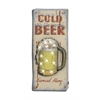 "Adorable Metal Led Wall Sign 12""W, 29""H"
