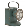 "Fabulous Metal Led Spot Lantern 10""W, 24""H"