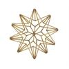 """Benzara Adorable Metal Star Table Decor 9""""W, 9""""H"""