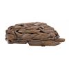 "Benzara Artistic Wood Tortoise 13""W, 3""H"