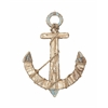 "Wd Rope Anchor Wall Decor 20""W, 27"""