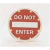 Funky Metal Led Do Not Enter Sign, Red & White