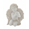 "Adorable Polyresin Praying Angel 9""W, 11""H"