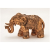 Appealing Ceramic Bronze Elephant, Bronze